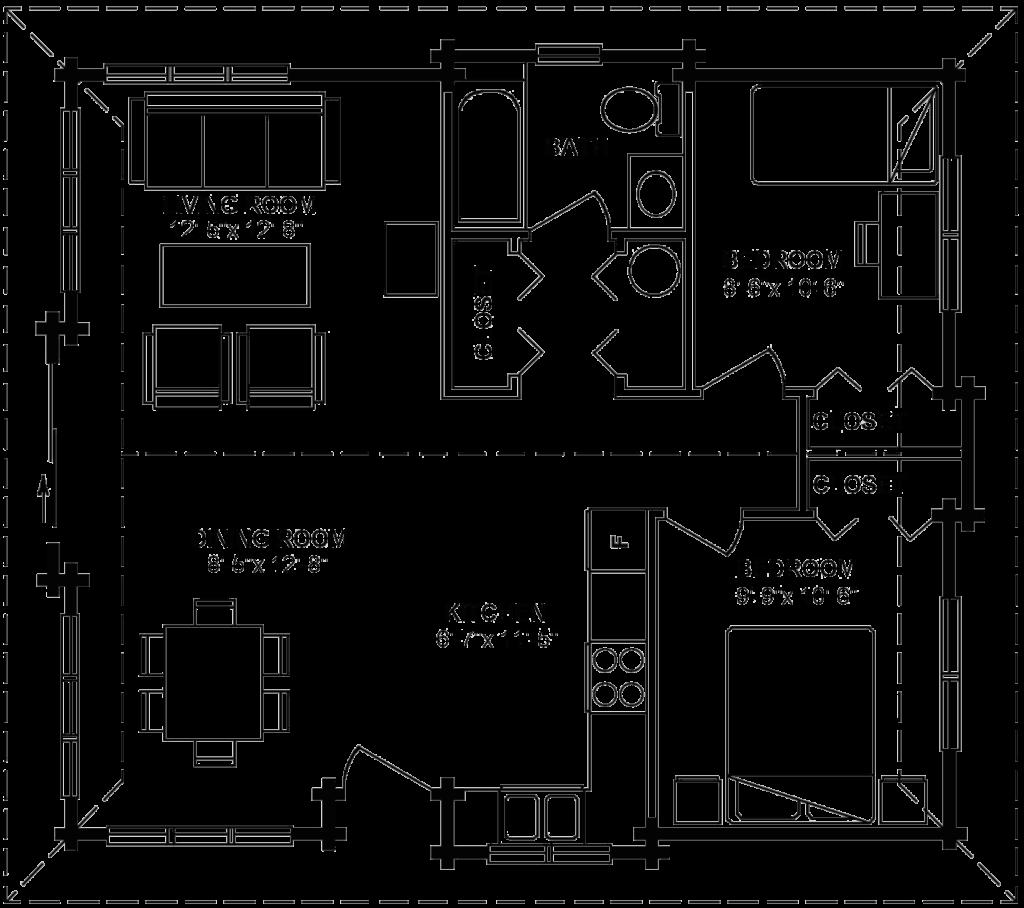 3.1.3-SHASTA FLOOR PLAN (MAIN FLOOR)