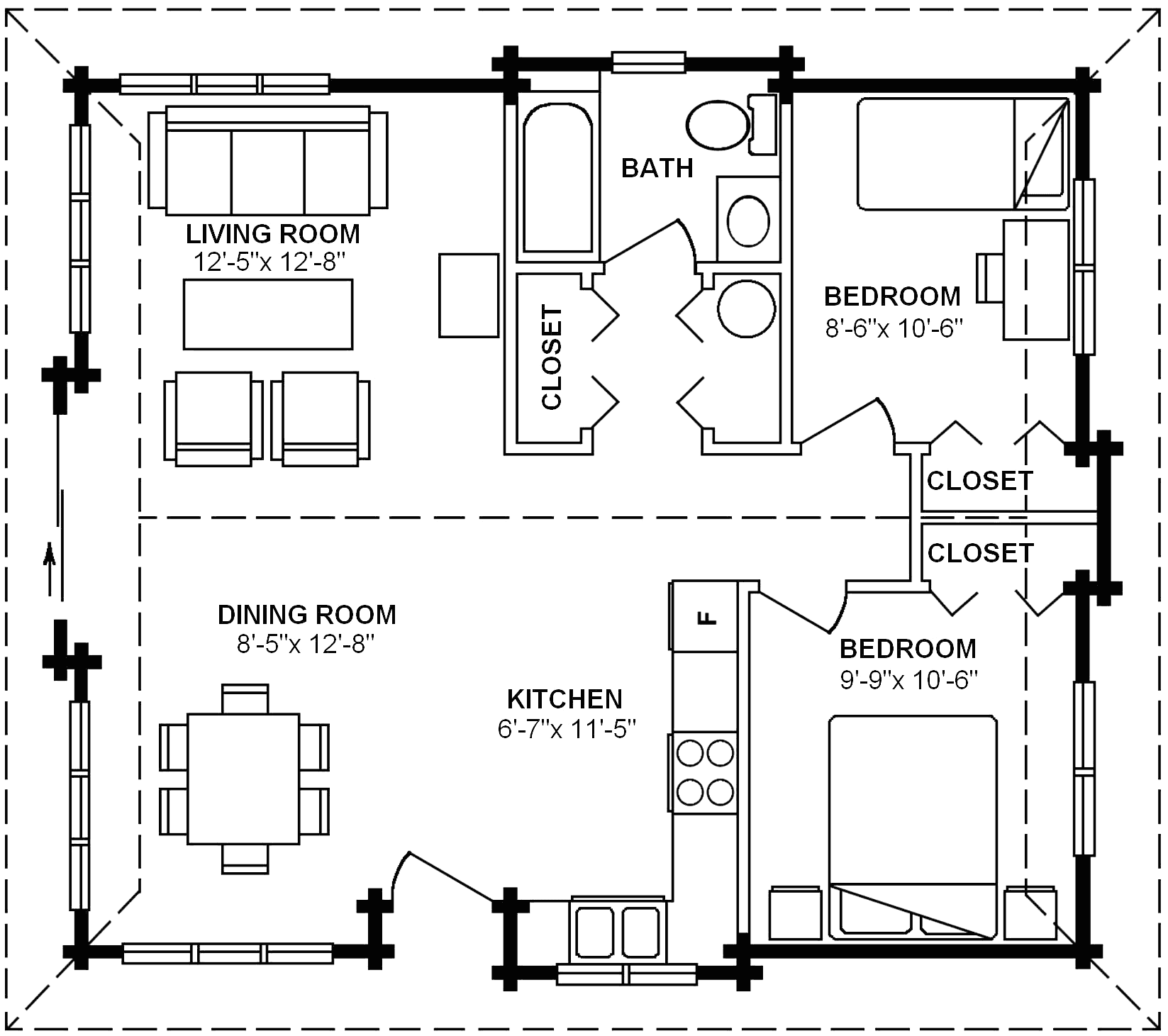 3.1.3-SHASTA FLOOR PLAN (MAIN FLOOR)