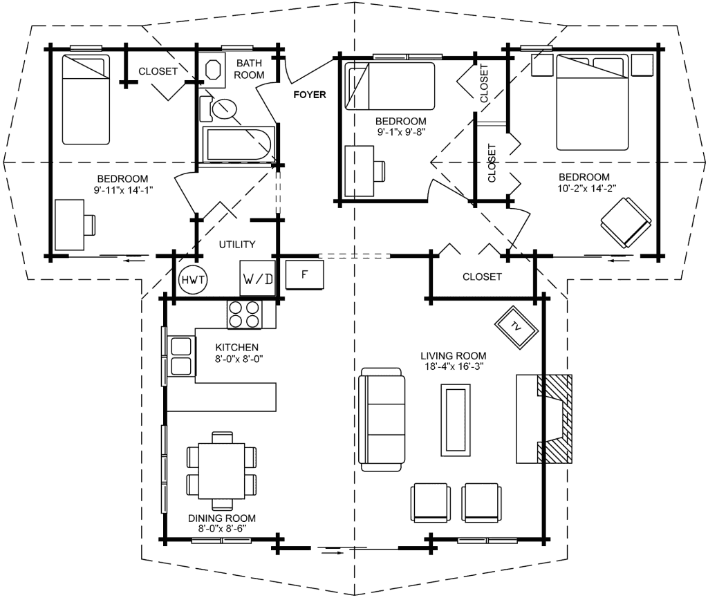3.1.6-PAISLEY FLOOR PLAN (MAIN FLOOR)