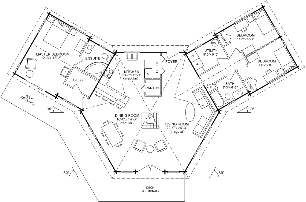 3.1.8-DENMAN FLOOR PLAN (MAIN FLOOR)