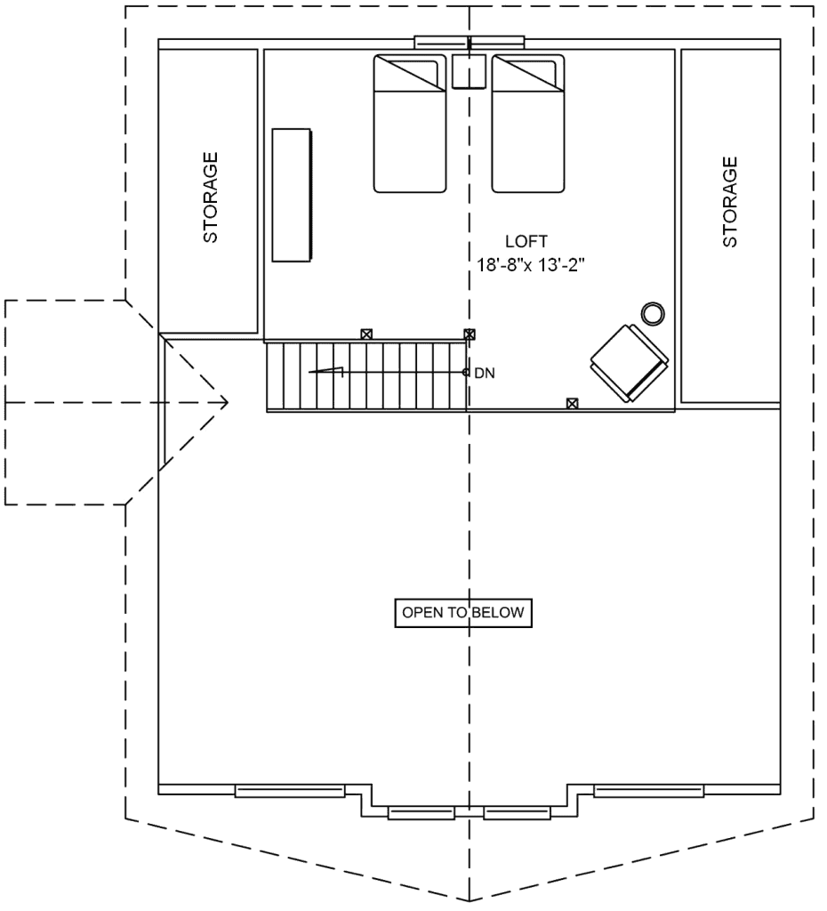 3.2.4-ALEUTIAN FLOOR PLAN (LOFT)