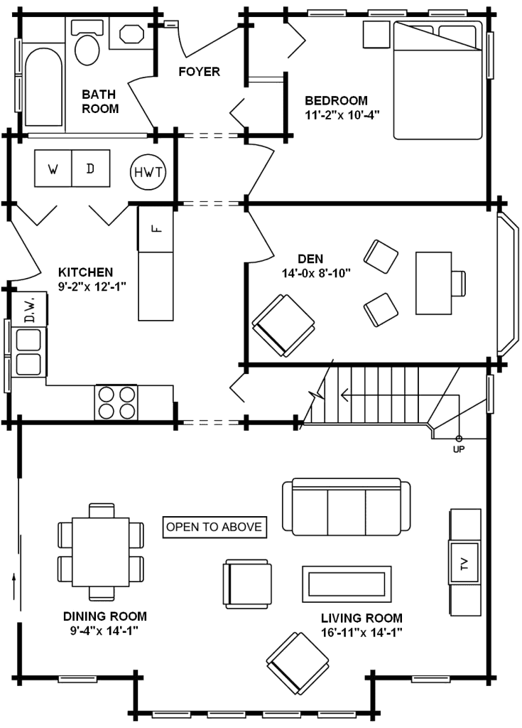 3.2.5-YOSEMITE FLOOR PLAN (MAIN FLOOR)