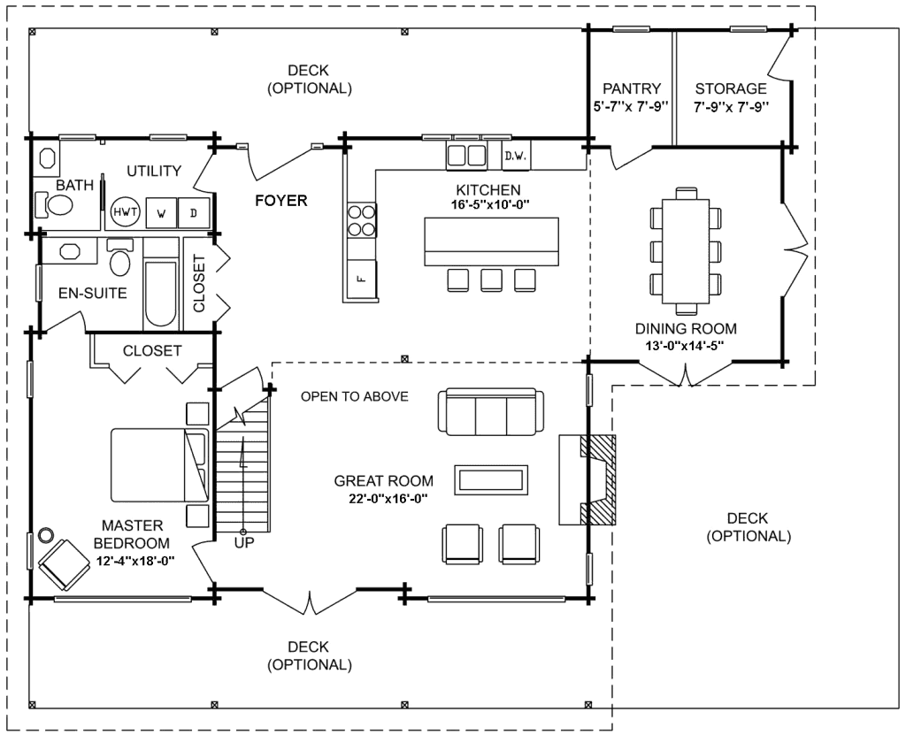 3.2.6-MONTANA FLOOR PLAN (MAIN FLOOR)