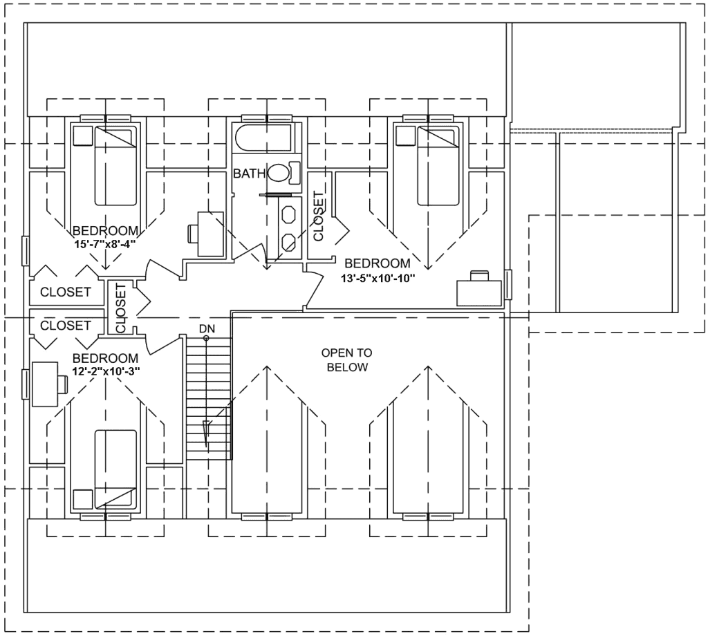 3.2.6-MONTANA FLOOR PLAN (UPPER FLOOR)
