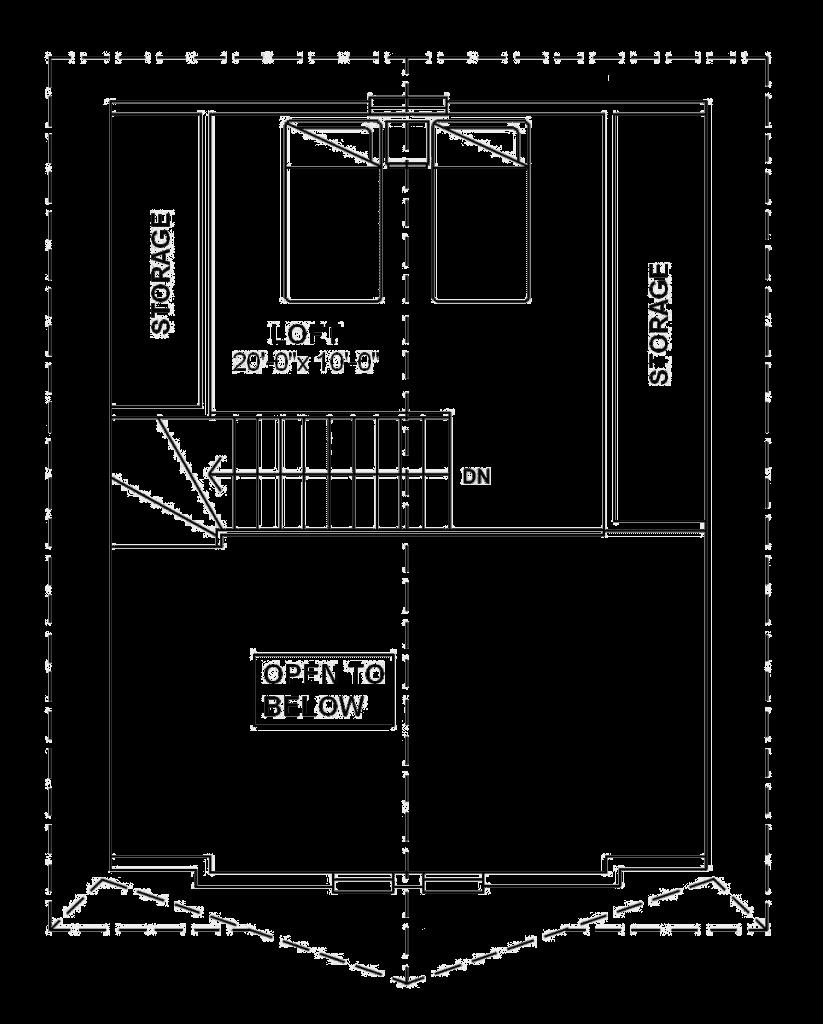 Muskoka Loft Plan
