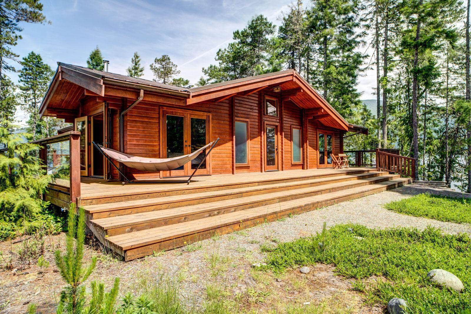 Gabriola pan abode for Canadian kit homes