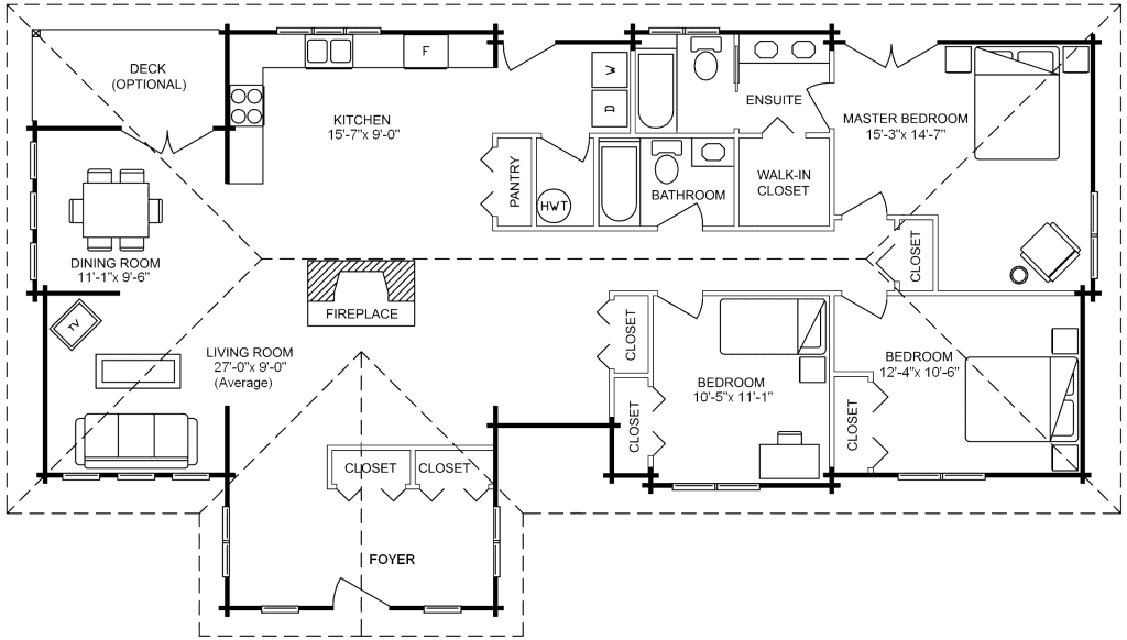 3.1.7-LAKEWOOD FLOOR PLAN (MAIN FLOOR)