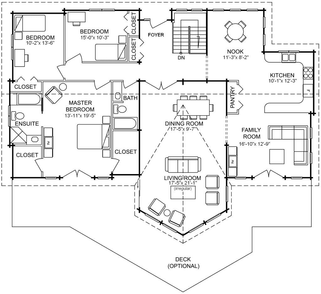 3.1.9-SATURNA FLOOR PLAN (MAIN FLOOR)