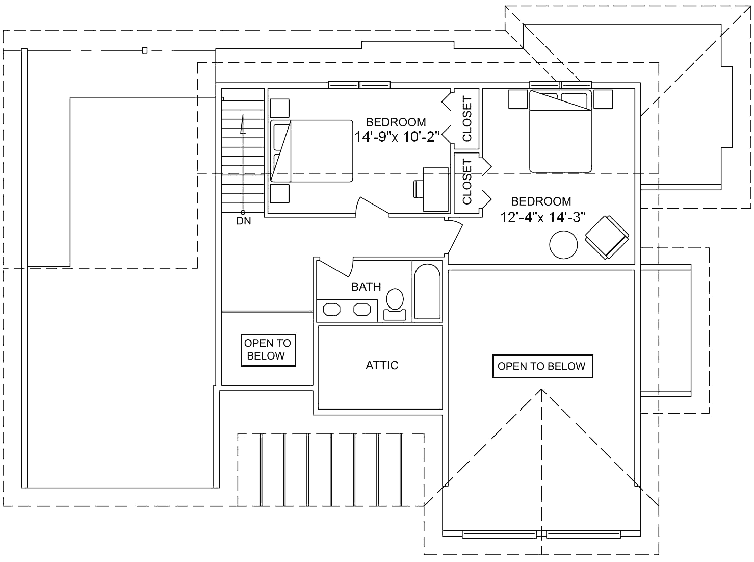 <strong>Upper Floor: 558 square feet (51.82 m²)</strong>