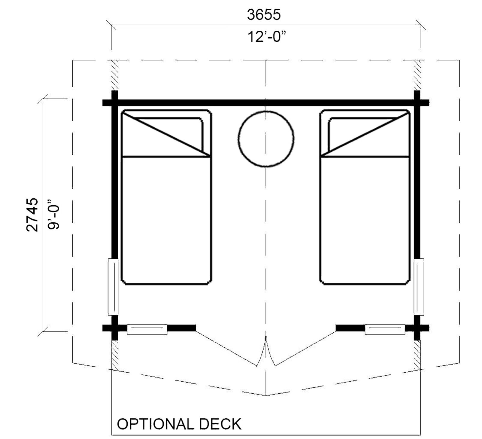 <strong>Main Floor:</strong> <strong>108 square feet (10.0 m²)</strong>