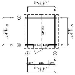 36 square feet / 3.25 m²