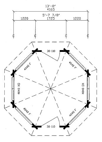 161 square feet / 15 m²