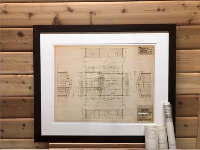 pan-abode plan look up, framed version of your Pan-Abode plan