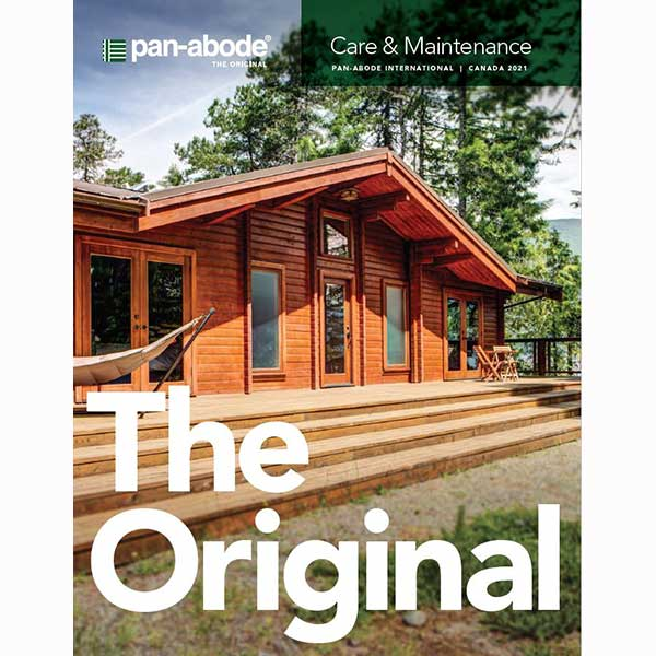 pan-abode care maintenance guide